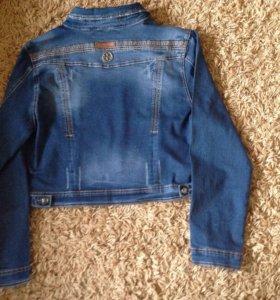 Куртка джинсовая, женская