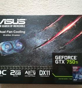 Видеокарта gtx 750 ti