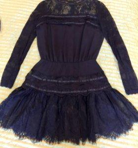 Очень красивое кружевное платье