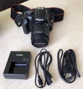 Фотоаппарат зеркальный canon 1100d