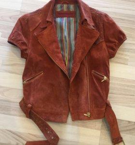 Куртка - жилет 100% замша Neohit 42-44 размер