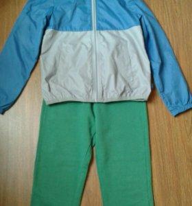 Benetton ветровка+штаны 140-150 см
