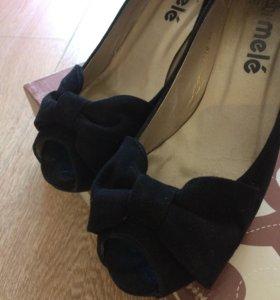 Туфли замшевые(Испания)
