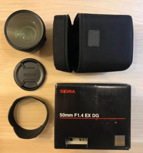 Объектив Sigma 50 mm F1.4 EX DG для Canon