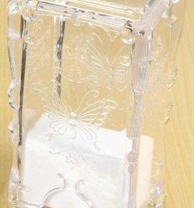 шкатулка для хранения салфеток для ногтей