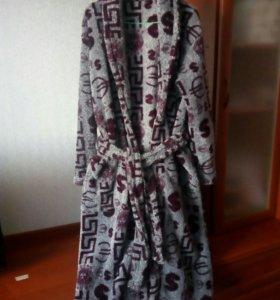 Махровый халат(новый)