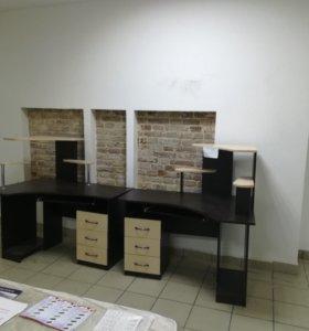 Угловые столы от производителя рассрочка