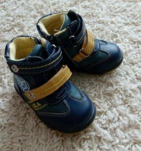 Ботинки демисезонные, 20 размер