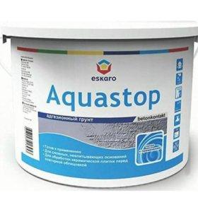 Грунт БЕТОКОНТАКТ Aquastop CONTACT - 14 кг