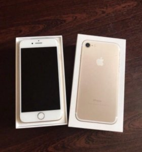 iPhone 7 gold!!