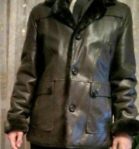 Продам куртку с мехом Чжи Ган