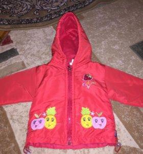 Курточка для малышки.