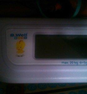 Электронные весы для младенцев