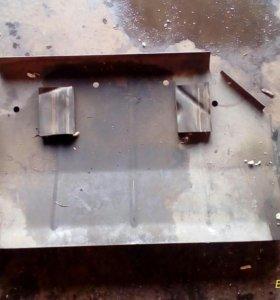 защита топливного бака на грандчероки zj