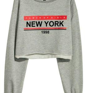 Короткий свитшот H&M