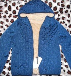 Куртка новая утеплённая