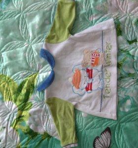 Рубашка для новородженного