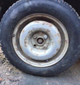 4 колеса с резиной от Golf 2