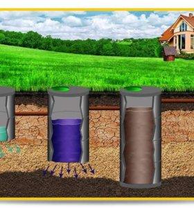 Устанавливаем канализации из ЖБ колец для коттеджа