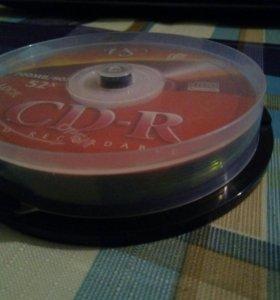 Диски-болванки (CD-R)