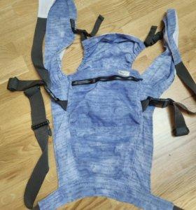 Продам синий слинг для удобной переноски ребёнка.