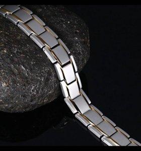 Браслет мужской магнитный
