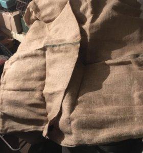 Мешки картофельные СССР 1м на 70 см 5 шт