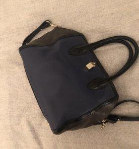Кожаная Furla сумка