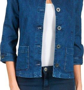 Джинсовая куртка / пиджак Benetton XS НОВАЯ 👍