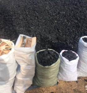 уголь дрова березовые