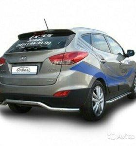 Защита бампера Hyundai ix 35