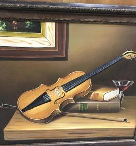 Картина Скрипка. Из Франции