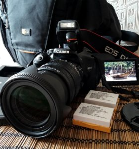 Canon EOS 600D + Sigma AF 17-70mm f/2.8-4.0