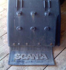 Брызговик задний Scania