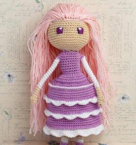 Кукла амигуруми Ами