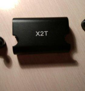 Беспроводные bluetooth наушники x2t