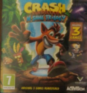 Игра на ps4 Crash Bandicoot N.Sane Trilogy