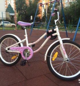 Новый велосипед для девочек