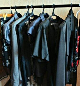 Вещи одним пакетом ( Темный готовый гардероб)