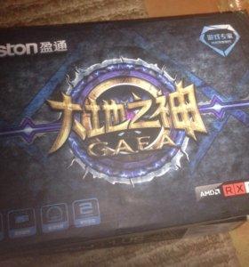 Видеокарта Yeston Radeon rx 550 4gb