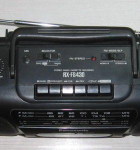 Магнитола Panasonic RX-FS430