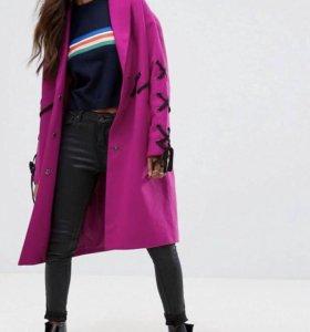 Новое  шерстяное пальто ❤️