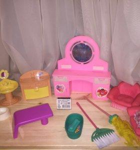 Мебель/аксессуары для кукол