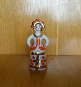 Статуэтка Матрёшка-невеста Дама в кокошнике Дулево