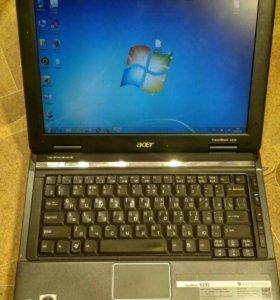 """Acer 6292 мини-ноут 12""""экран/2ядра/4Гб/DVD/oтл.со"""