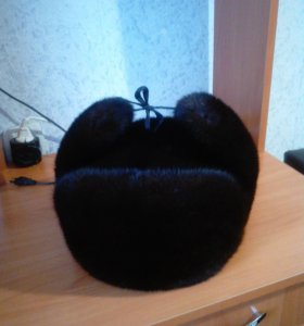 шапка норка ушанка
