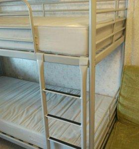 Кровать 2-ярусная икеа свэрта