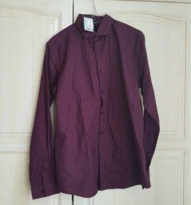 Новая мужская рубашка 48-50р