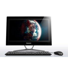 "Моноблок Lenovo 21.5"" FHD 2х3ггц 8gb 500gb 1gb"