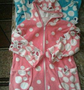 Халаты для девочки 6 - 7лет